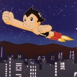RUPERT J. SMITH《JAPAN PROJECT, HOMAGE TO ANDY WARHOL / ASTROBOY》 screenprint on paper, 91.5 x 91.5 cm, 1989